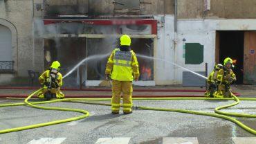 """15 nov 19 – W9 Enquête d'action """"Pompiers de Bourgogne : des opérations à haut risque"""" à 21H05."""