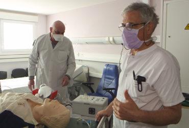 Coronavirus : Hôpital de Mâcon, le système D