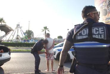 Rixe, vol, délit de fuite : 100 jours avec la police de Fréjus